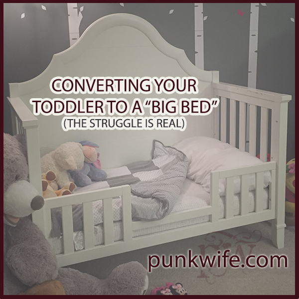 converting your toddler to a big bed the struggle is. Black Bedroom Furniture Sets. Home Design Ideas