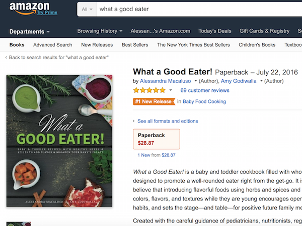 What a Good Eater! on Amazon